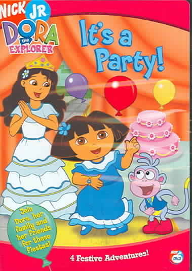 DORA THE EXPLORER:IT'S A PARTY BY DORA THE EXPLORER (DVD)